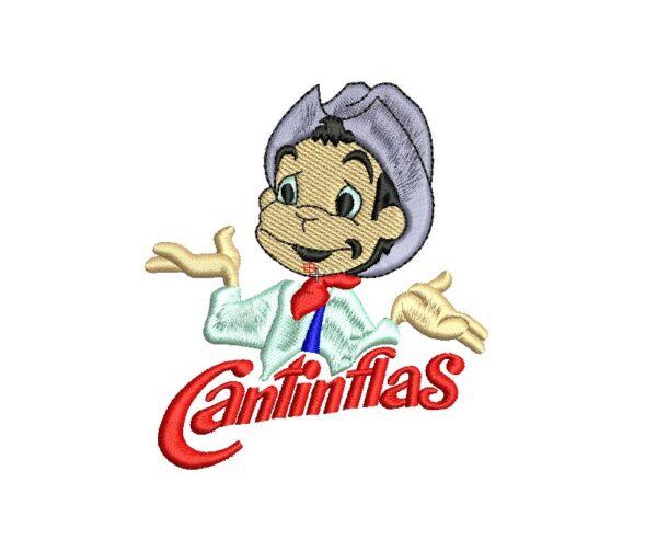 bordado cantinflas