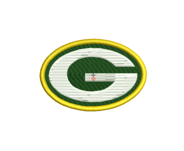 bordado logo packers