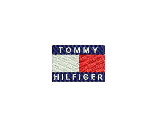 bordado logo tommy hilfiger