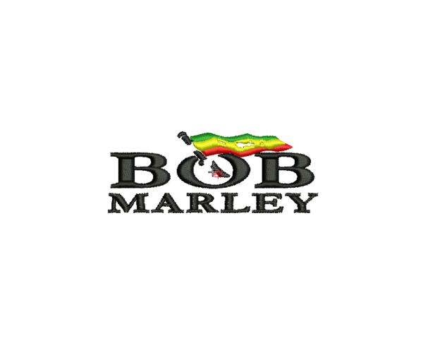 bordados bob marley