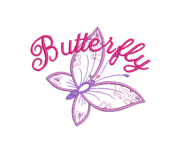 bordado buterfly