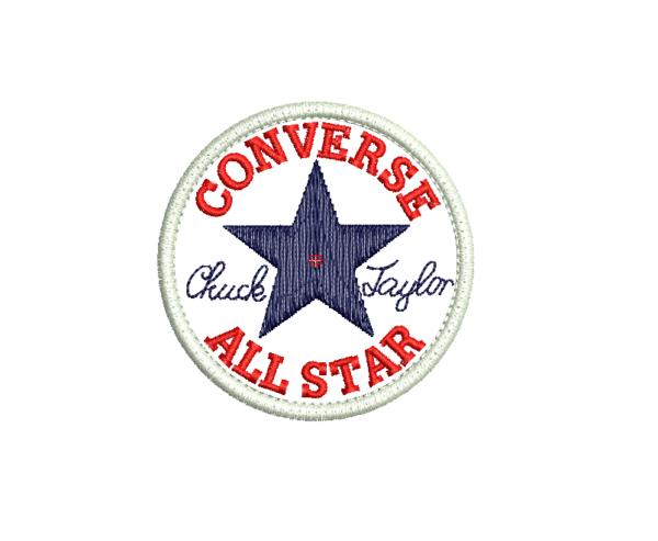 Bordado converse logo