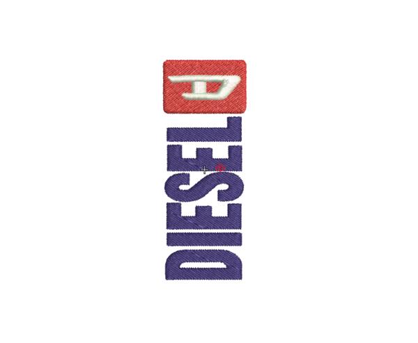Bordado logo diesel