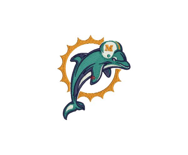 bordado dolphins logo