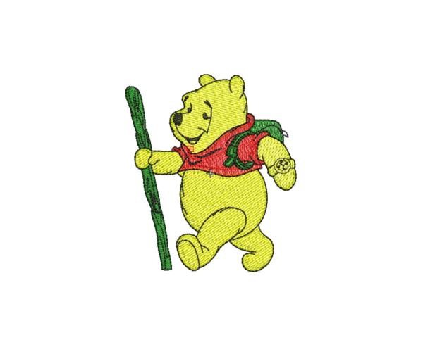 bordado winnie pooh